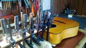 guitar neck repair